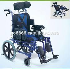 siege de pour handicapé en aluminium paralysie cérébrale fauteuil roulant inclinable