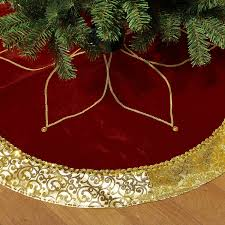 gold christmas shop christmas tree skirts