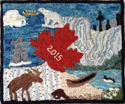 Rug Bugs Panam Rugs From Ohcg Members Ontario Hooking Craft Guild