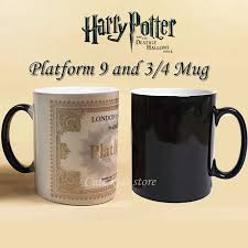 Color Changing Mugs Harry Potter Marauders Map Magic Cold Heat Temperature