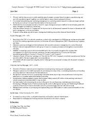 Resume Buzzwords For Management resume exles of project management resumes resume buzzwords
