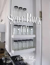 kitchen spice rack ideas spice rack diy hometalk