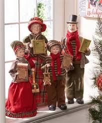 giftcraft caroler figurines 4 set