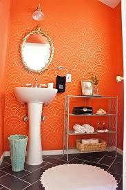 Orange Bathroom Ideas Colors Best 25 Orange Walls Ideas On Pinterest Orange Room Decor