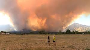 Wildfire Today Montana by Montana Firefighters Battling Roaring Lion Fire Nbc News