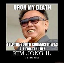 Kim Jong Il Meme - image 86852 kim jong il looking at things know your meme