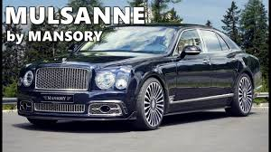 bentley mulsanne speed black mansory bentley mulsanne youtube