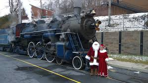 ride the train with santa jim thorpe pa