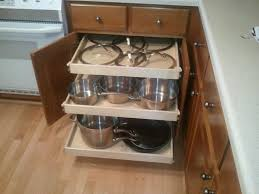 Kitchen Cabinet Pull Out Shelves Winsome Ideas  Made To Fit Slide - Slide out kitchen cabinets