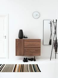meubles entrée design gain de place des meubles et accessoires déco pour optimiser l