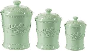 green kitchen canister set kitchen canister set ceramic green vintage design counter coffee