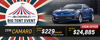 chevy camaro lease offers 2016 chevy camaro lease near baltimore at j b a chevrolet