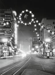 wehadfacesthen christmas lights in downtown los route22ny