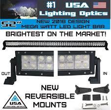american made led light bar amazon com new 2016 52 inch 300w mega led light bar by usa lighting