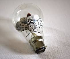 light bulb artwork ideas crafts and arts ideas