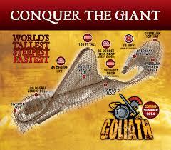Goliath Six Flags Magic Mountain Capcom And Six Flags Collaborate On