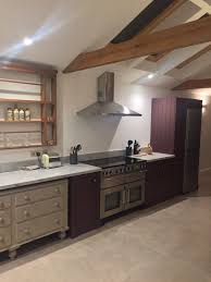 hand painted kitchen in wiveton norfolk by fx decor