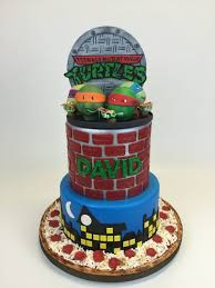 tmnt cake topper gallery custom cake toppers cake in cup ny