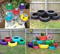 how to make recycled tires garden planter diy u0026 crafts handimania