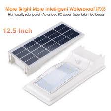 solar motion sensor outdoor light weatherproof 12 5 u0027 u0027 led solar motion sensor light outdoor security