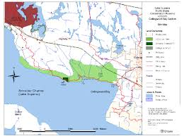 Map Of Death Valley Lake Superior North Shore Conservation Reserve Management
