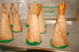 thanksgiving teepee cupcake with peel and the cake to make the