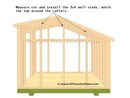 saltbox shed truss plans storage shed plans 10x12 saltbox
