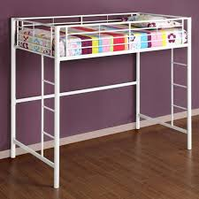 White Metal Bunk Bed White Metal Loft Bunk Bed Loft Bunk Beds Lofts And Bunk Bed