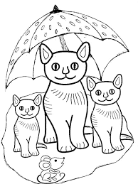 cute cat coloring pages 2017 womanmate com