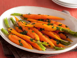 honey glazed carrots food network recipe food