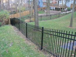 exterior influence on garden fence panels image of wrought iron