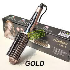 Sisir Roll ladystar electric brush styler roll combo catok sisir