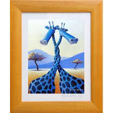 chambre la girafe tableau girafe le tourbillon d amour tableau chambre enfant bébé
