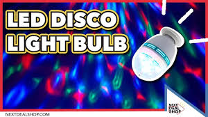 Disco Light Bulb Led Disco Light Bulb Throw Your Own Party At Home Youtube