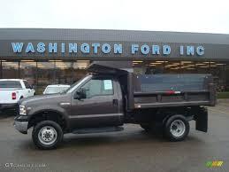 Ford F350 4x4 Trucks - 2006 dark stone metallic ford f350 super duty xl regular cab 4x4