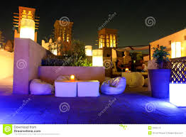 Garden Patio Lighting furniture stunning roof terrace beautiful view the night unique