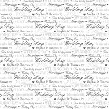 wedding wrapping paper wedding day gift wrap