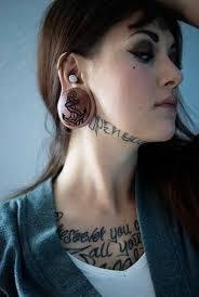 cute neck tattoo tattoo shortlist