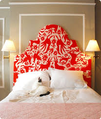 Cushioned Headboards For Beds by Diy Upholstered Otomi Headboard U2013 Design Sponge