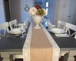 ivory lace table runner lace table runner etsy