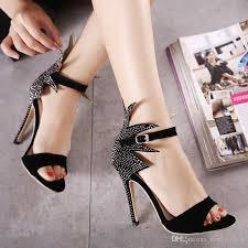 high heels designer milan fashion show high heels sandals designer shoes