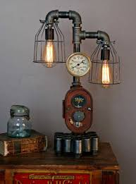 lamps of handmade vintage goods industrial steampunk lamp shades