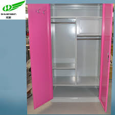 Simple Wardrobe Designs by Rose Carmine Simple Design Indian Bed Room Furniture Steel Almirah