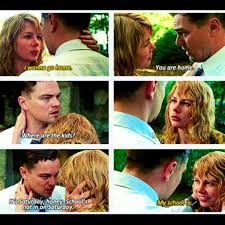 Shutter Island Meme - why you all wet baby leonardo dicaprio michelle williams in