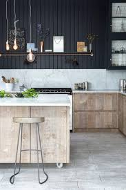 design awesome rustic industrial kitchen ideas white marble