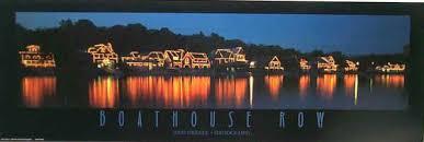 Boat House Row - philadelphia pa boat house row night city skyline photo