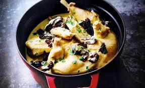 cuisiner un poulet de bresse fricassée de volaille par paul bocuse