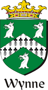 Family Crest Flags Wynne Family Crest Irish Coat Of Arms Image Download Download F