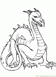 dragon coloring pages free free dragon coloring pages free