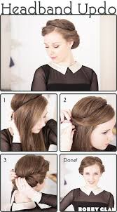 headband styler 15 hairstyles step by step hairstyles for hair